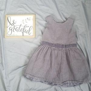 Girls 5T Cat & Jack grey dress
